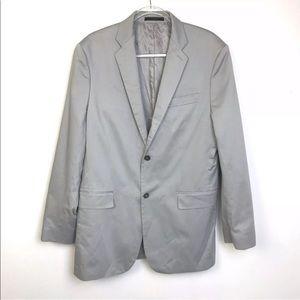 42L Gray Cotton Blazer Express Spirts Jacket
